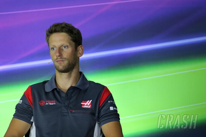 F1, 22.06.2017 - Press conference, Romain Grosjean (FRA) Haas F1 Team VF-17