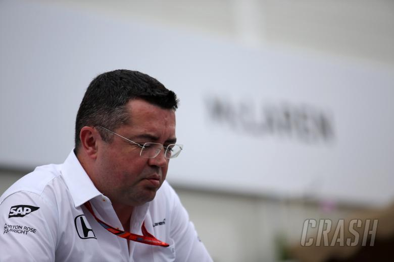 F1: 22.06.2017 - Eric Boullier (FRA) McLaren Racing Director