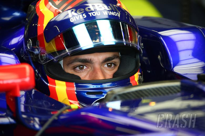 F1, 14.07.2017 - Free Practice 1, Carlos Sainz Jr (ESP) Scuderia Toro Rosso STR12