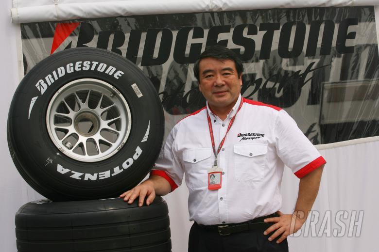 08.09.2006 Monza, Italy, Hirohide Hamashima (Bridgestone) - Formula 1 World Championship, Rd 15, Ita