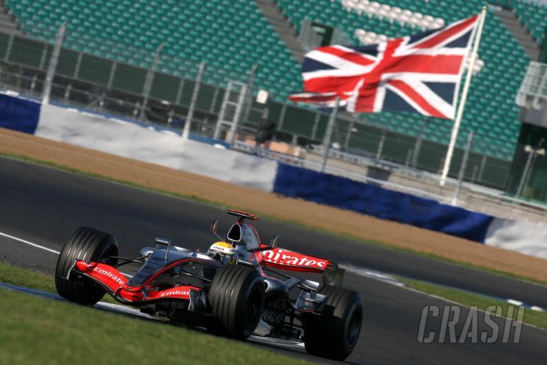 21.09.2006 Silverstone, England, Lewis Hamilton (GBR), Mclaren Mercedes, MP4-21