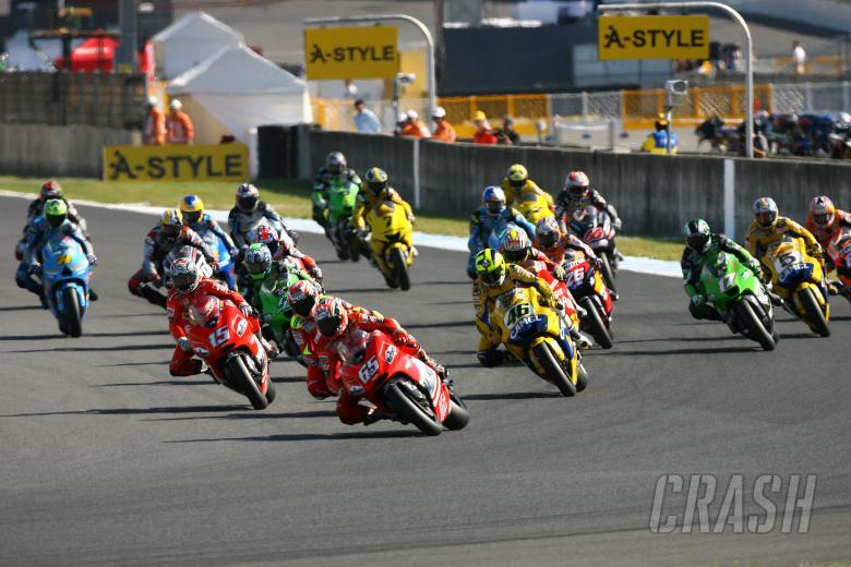 Capirossi leads Japanese MotoGP, 2006