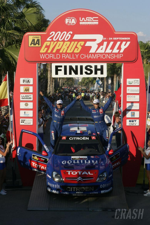 , , Sebastien Loeb (FRA) Kronos Citroen Xsara  World Rally of Cyprus, 19-22 September 2006, Cyprus