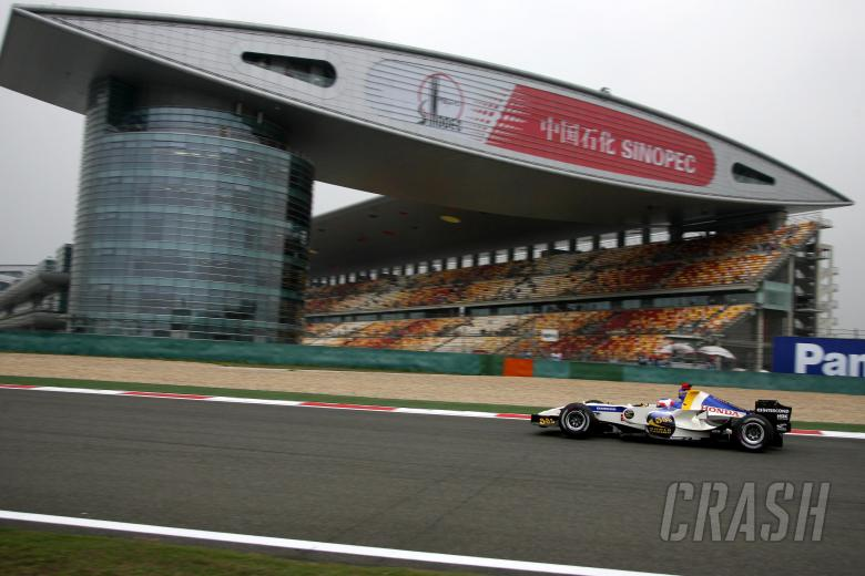 29.09.2006 Shanghai, China, Rubens Barrichello (BRA), Honda Racing F1 Team, RA106  - Formula 1 World