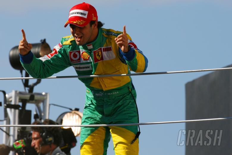 ,  - 22.10.2006 Sao Paulo, Brazil,  Felipe Massa (BRA), Scuderia Ferrari, 248 F1 - Formula 1 World Champ