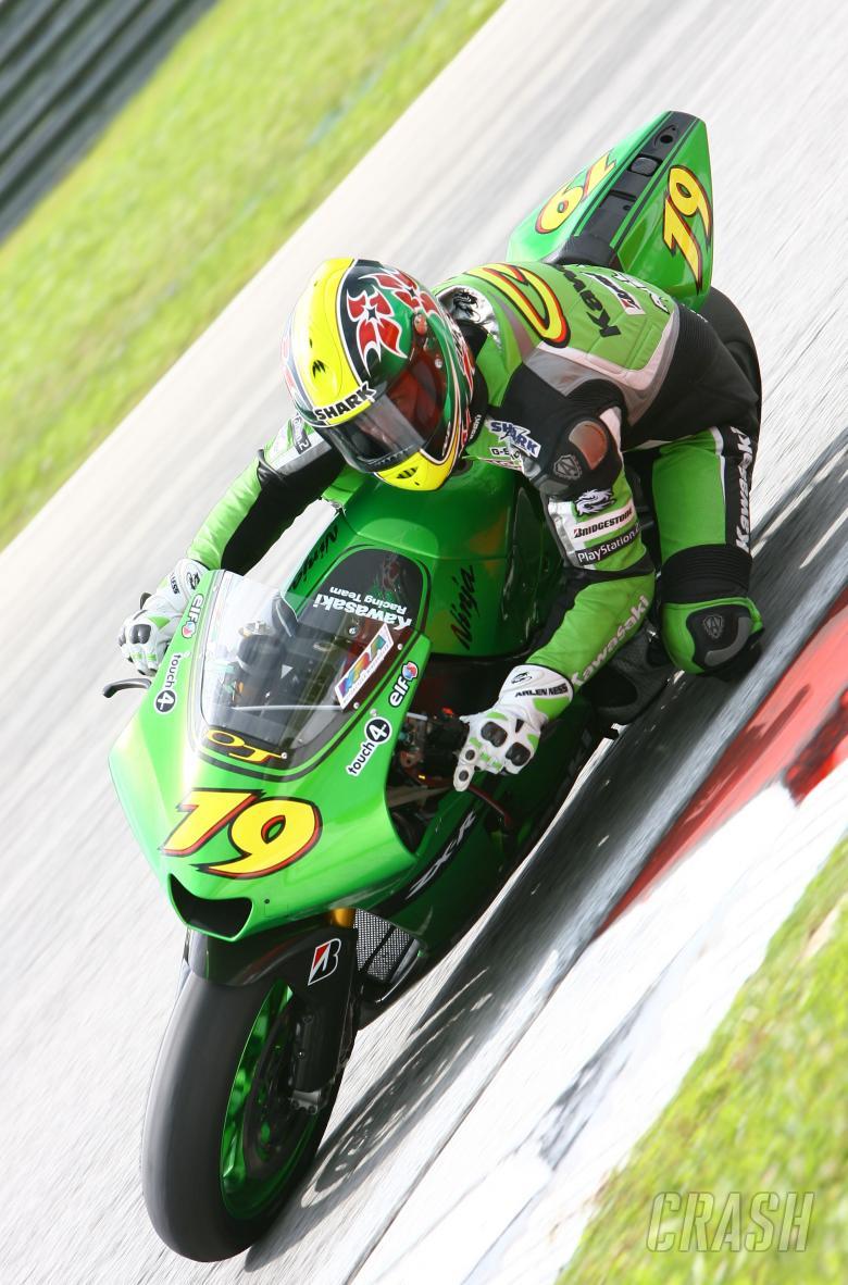 Jacque, Sepang MotoGP test, January 2007