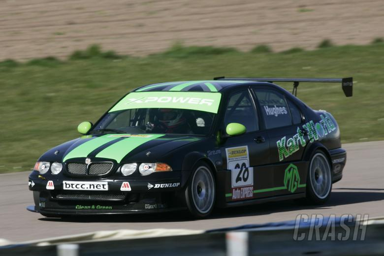Jason Hughes (GBR), Kartworld Racing, MG ZS, BTC