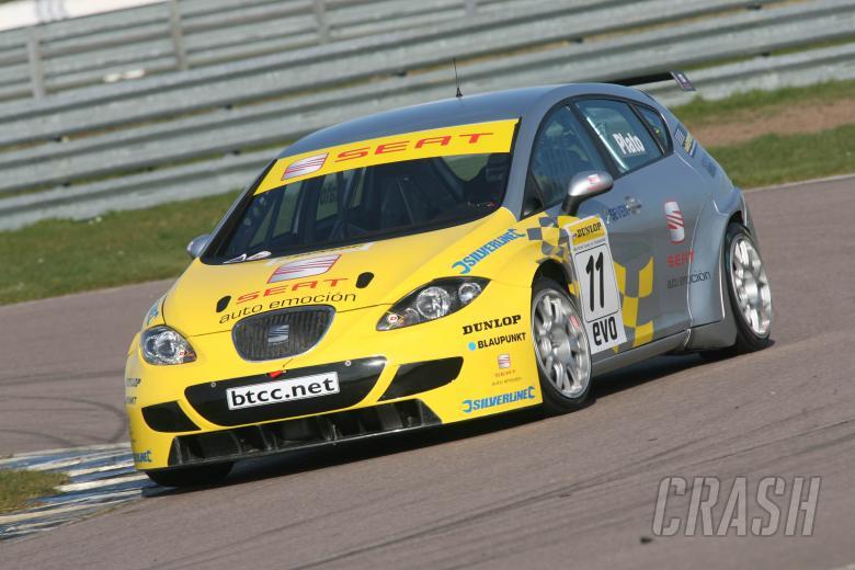 Jason Plato (GBR), SEAT Sport UK, SEAT Leon, Super 2000