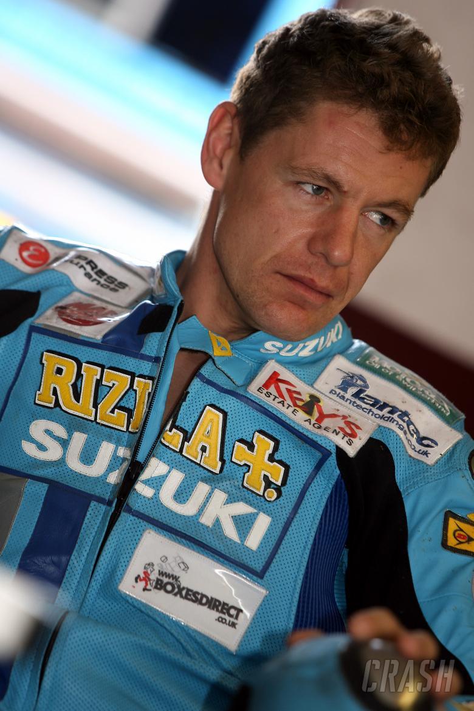 , , Chris Walker (GBR), Rizla Suzuki, GSXR1000K72007 British Superbike Championship, Winter Test, Albece