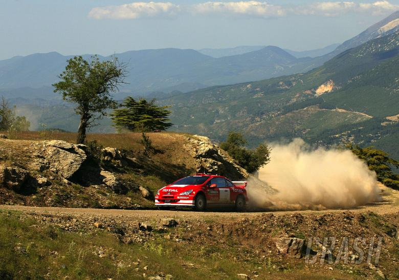 Marcus Gronholm / Timo Rautiainen - Peugeot 307 WRC