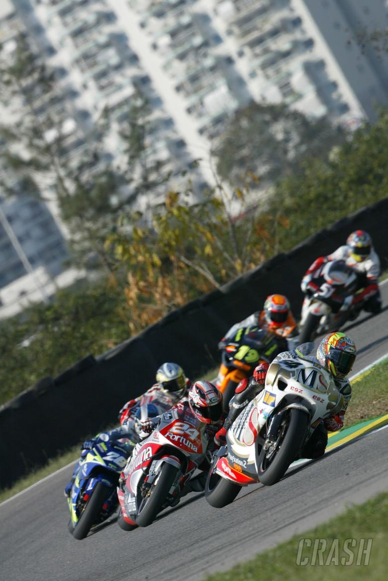 , , Poggiali leads 250 race, Rio 2004