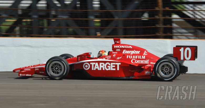 Indy Racing League.  12 May 2007.  Indy 500 Pole Day.  Indianapolis, Indiana.  Dan Wheldon.