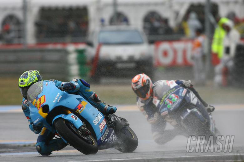 , , Vermeulen,Melandri, French MotoGP 2007