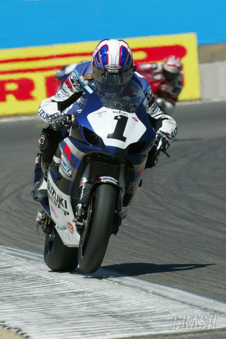 Mat Mladin, AMA Superbikes Race Laguna Seca, 2004