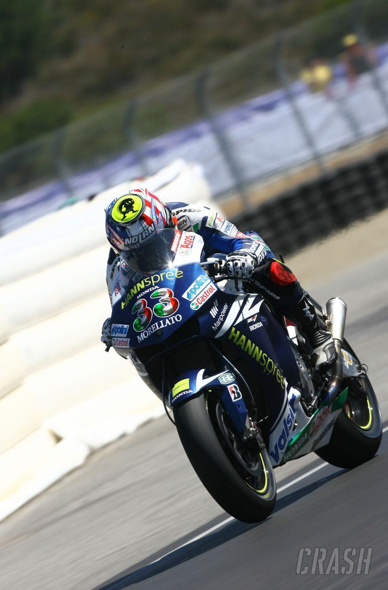 Melandri, U.S. MotoGP 2007