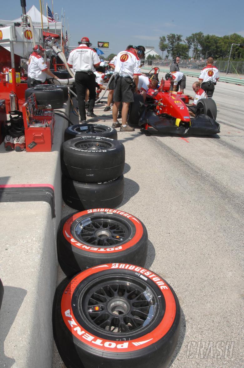 Champ Car World Series. 10-12 August 2007. Road America. Elkhart Lake, Wisconsin USA. Bridgestone ti
