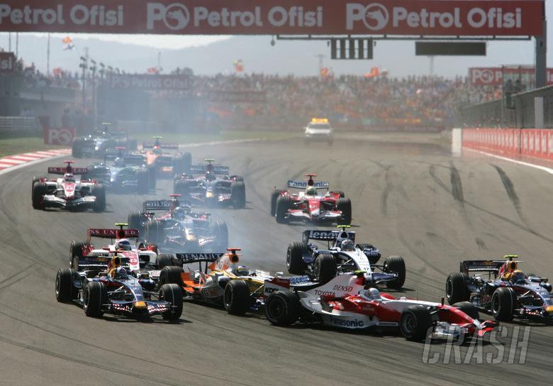 Start, Turkish F1, Istanbul Park, 24th-26th August, 2007