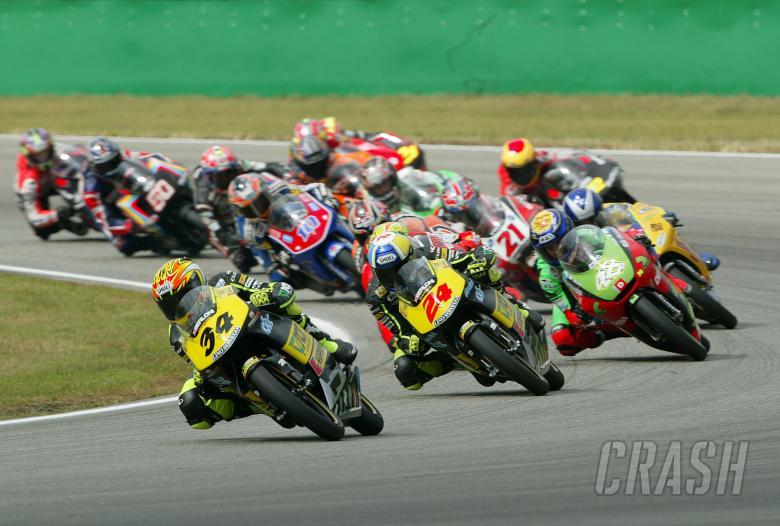Start, Czech 125GP Race, 2004