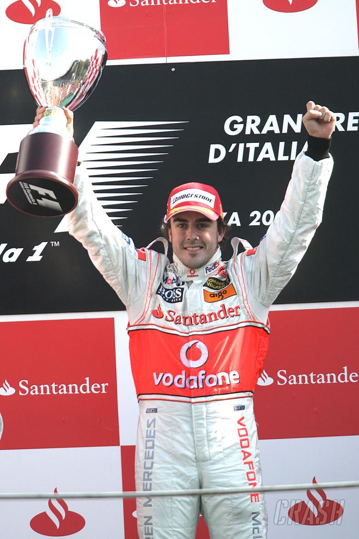 , , Fernando Alonso (ESP) McLaren MP4/22, Italian F1, Monza, 7-9th, September 2007