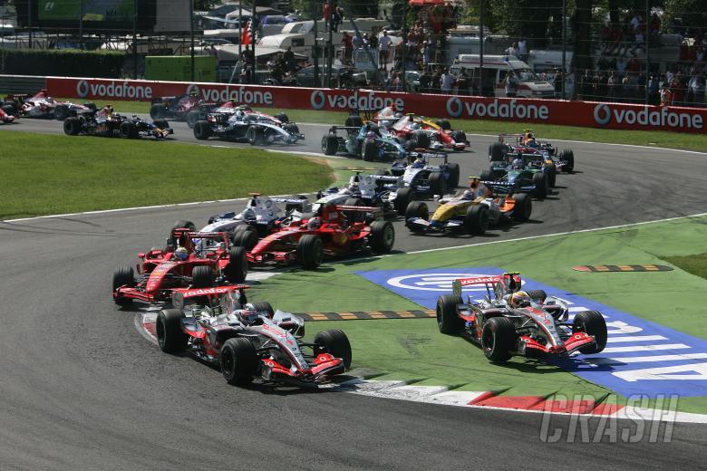 Start, Italian F1, Monza, 7-9th, September 2007