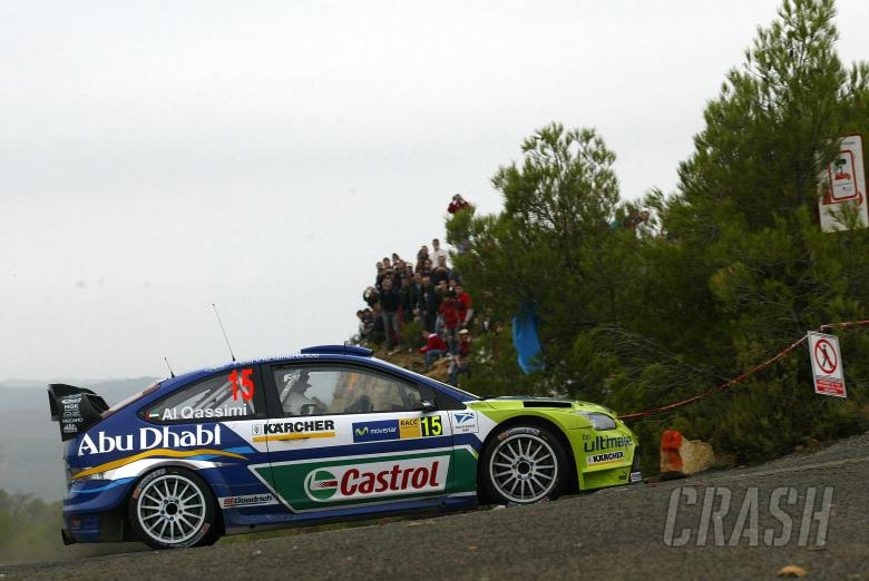 , , Khalid Al Qassimi (UAE) / Nicky Beech (GBR), BP Ford Focus RS WRC06. Rally Catalunya Costa Daurada,