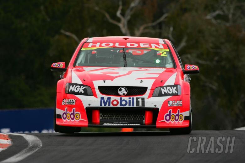 Mark Skaife (Aust) Todd Kellyu (Aust) HRT commodoreSupercheap Autos Bathurst 1000Rd 10 V8 SupercarsM