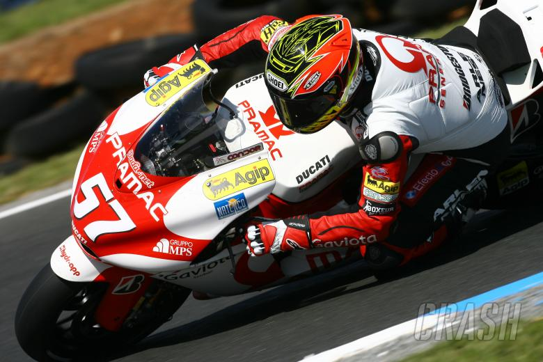 Davies, Australian MotoGP 2007