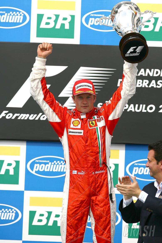Kimi Raikkonen (FIN) Ferrari F2007, Brazilian F1, Interlagos, 19th-21st, October, 2007