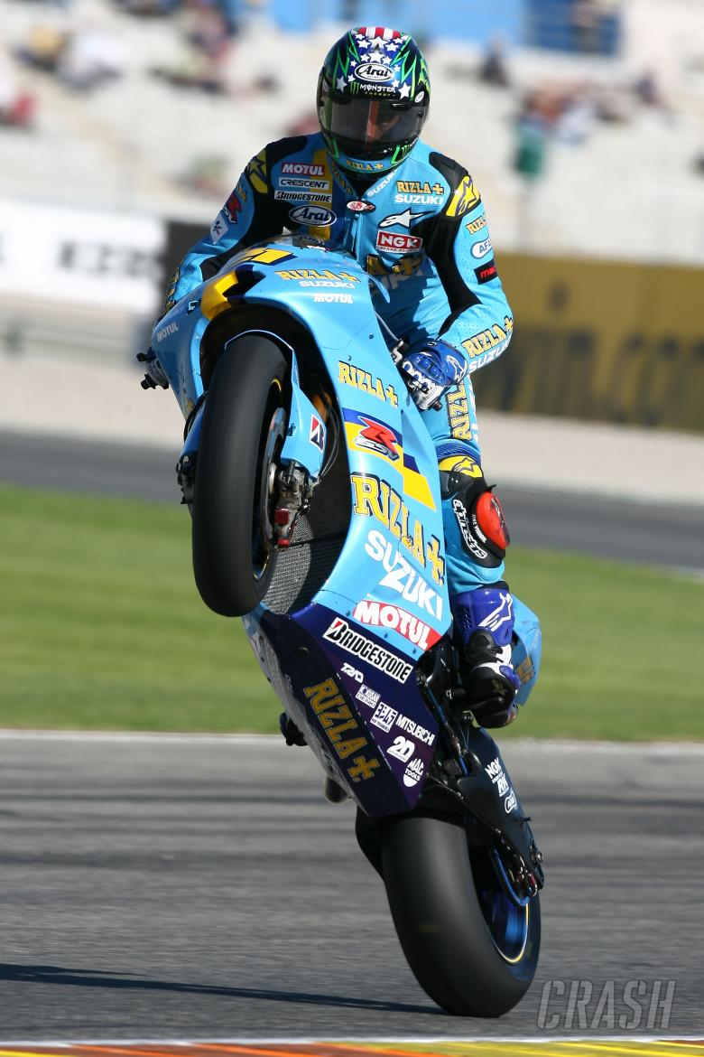 Hopkins, Valencia MotoGP 2007
