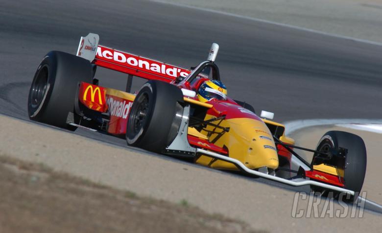 Sebastien Bourdais, Newman Haas Lola, Laguna Seca