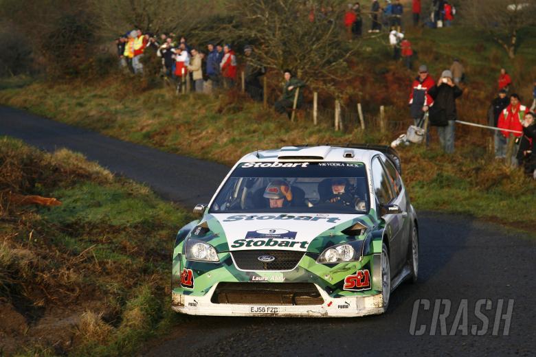 , , Jari-Matti Latvala (FIN) / Miikka Anttila (FIN), Stobart Ford Focus WRC 06. Rally Ireland. 15-18th N