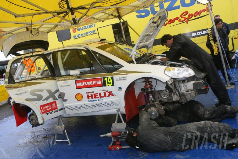 Sebastian Lindholm (FIN) / Tomi Tuominen (FIN), Suzuki WRT SX4 WRC