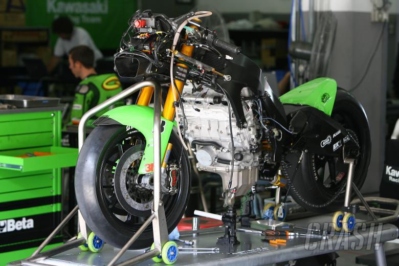 Kawasaki ZX-RR, Sepang MotoGP Test January 2008