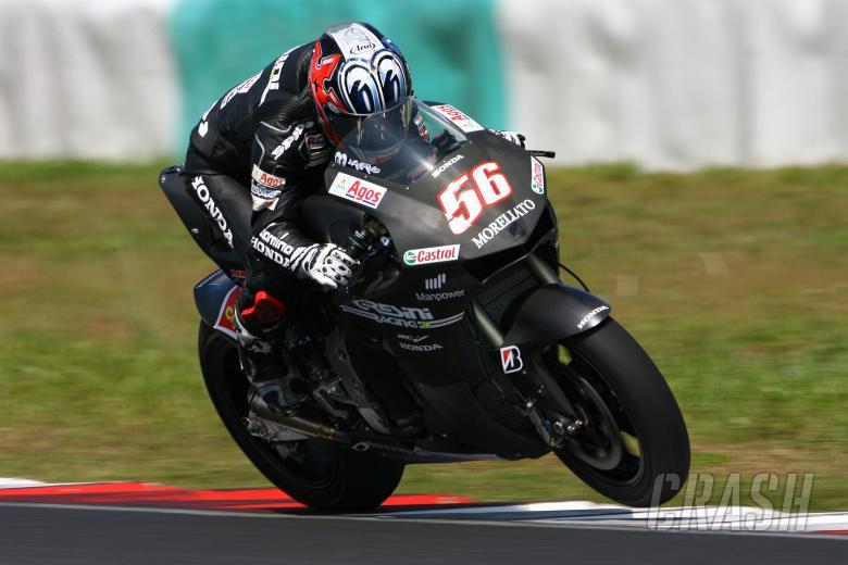 Nakano, Sepang MotoGP Test January 2008