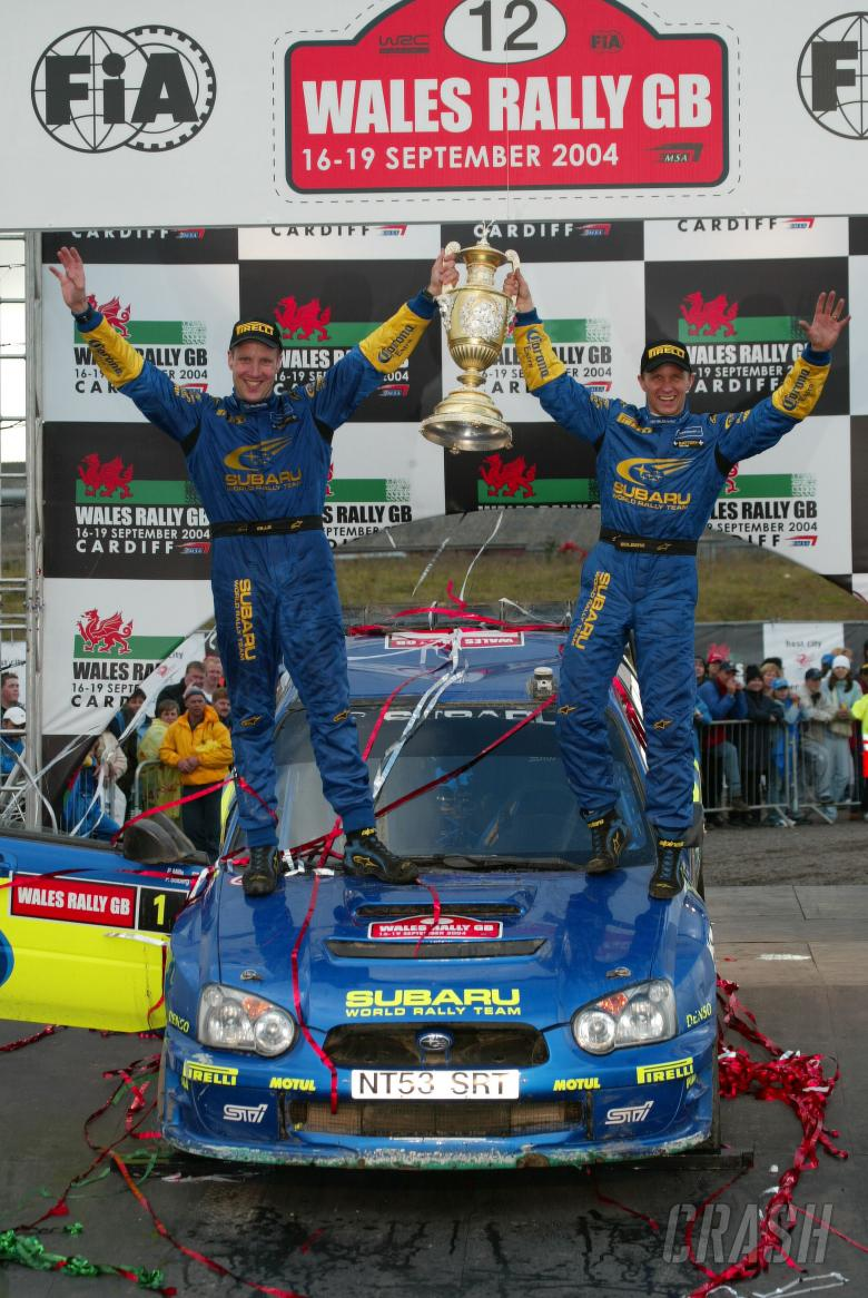 Rally GB winners, Petter Solberg and Phil Mills [Subaru]