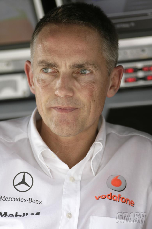 Martin Whitmarsh CEO McLaren (GBR), Australian F1 Grand Prix, Albert Park, Melbourne, 14-16th, March