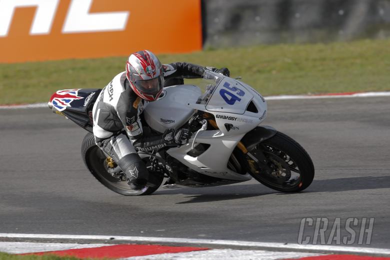 45, Glen Richards, Embassy Racing Triumph, Supersport Championship