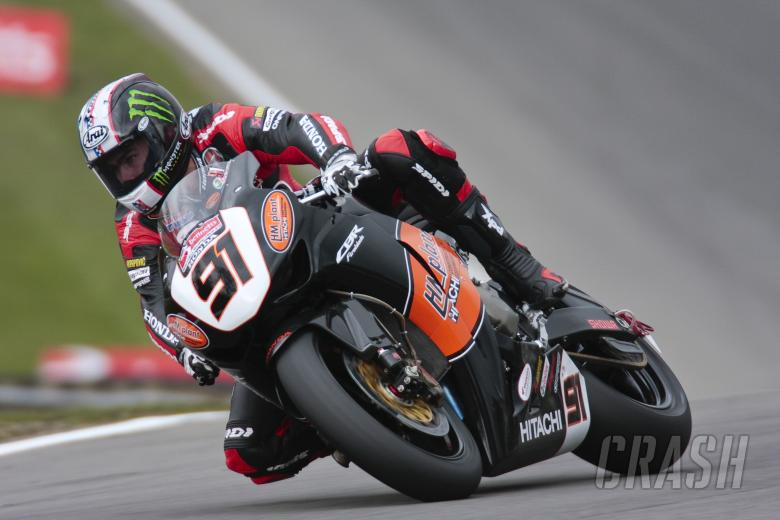, , 91, Leon Haslam, HM Plant Honda Racing, Druids bend, satrday qualifying.