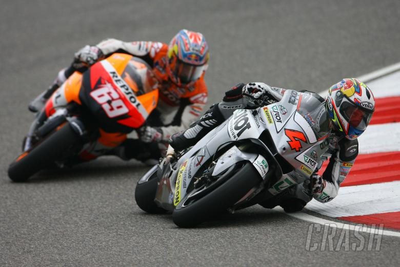 Dovizioso, Hayden, Chinese MotoGP Race 2008