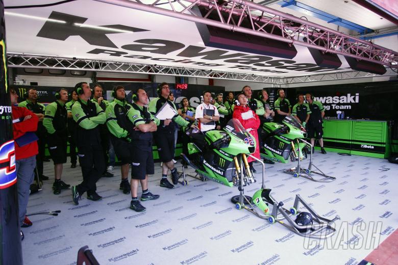 Kawasaki Garage, Italian MotoGP 2008
