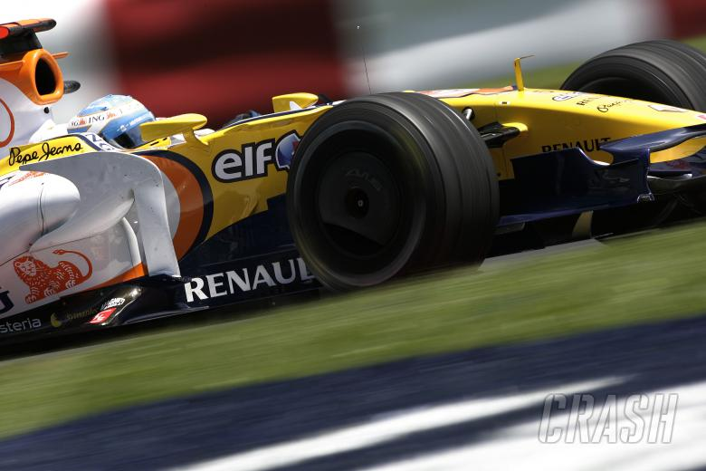 Fernando Alonso (ESP) Renault R28, Canadian F1 Grand Prix, Montreal, 6th-8th, June, 2008