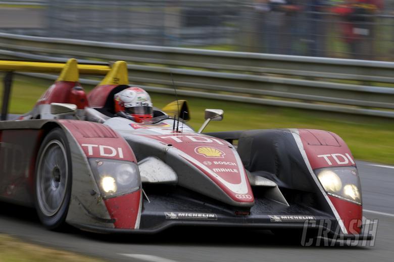 Capello, McNish, Kristensen Audi Sport North America Audi R10 TDi