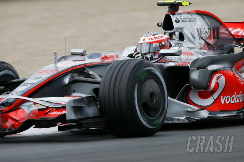 Heikki Kovalainen (FIN) McLaren MP4-23, French F1 Grand Prix, Magny Cours, France, 20th-22nd, June,