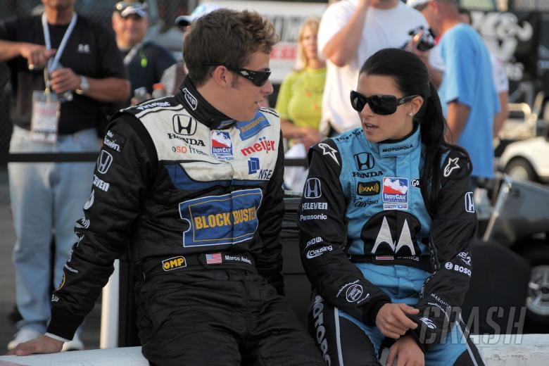 Indy Racing League. 28-29 June 2008. Richmond International Speedway. Richmond, Virginia. Marco Andr
