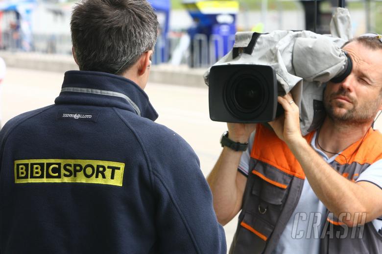 BBC camera, German MotoGP 2008