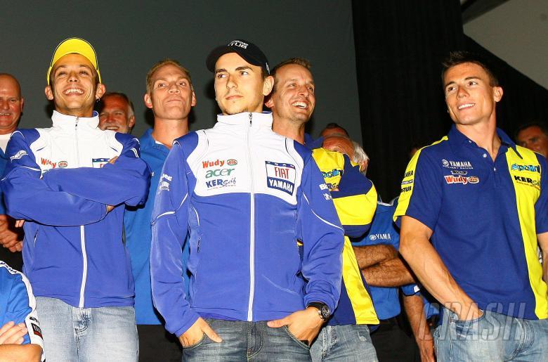 Rossi, Russell, Lorenzo, Edwards, Toseland, USA MotoGP 2008