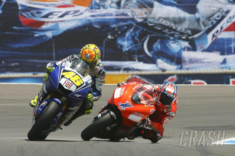 ,  - Rossi, Stoner, USA MotoGP 2008