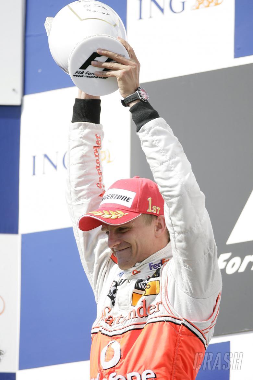 Heikki Kovalainen (FIN) McLaren MP4-23, Hungarian F1, Hungaroring, 1st-3rd, August, 2008