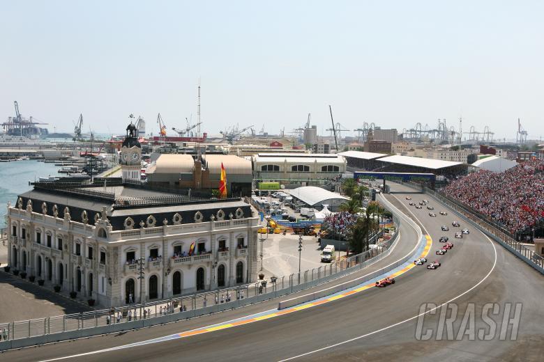 Start, Valencia F1 Grand Prix, 22nd-24th, August 2008