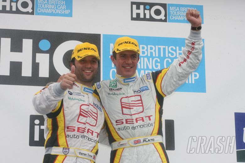 Jason Plato (GBR) - SEAT Sport UK SEAT Leon TDI